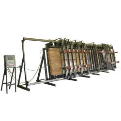 Пресс вертикальный ПВ 005-3000/ -4500/ -6000 Бакаут Сращивание по длине Столярные станки