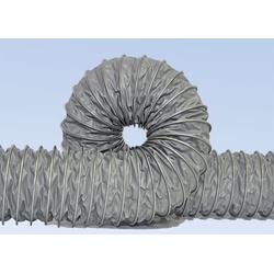 CLIP VINI - воздуховод из ткани покрытой ПВХ, армирован наружной стальной спиралью из оцинкованного профиля. Пром воздуховоды Стружкоотсосы Для производства мебели